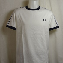 fred perry t-shirt taped m6347-b34 wit