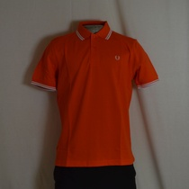 polo fred perry m1200-206 oranje
