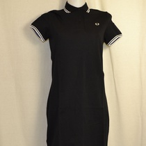 polo dress fred perry d3600-321 zwart