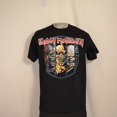 t-shirt iron maiden eddy's evolution