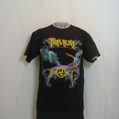 t-shirt trivium the crusade