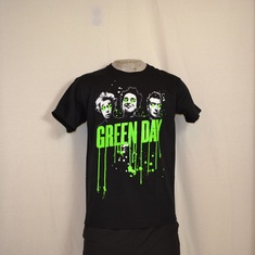 t-shirt greenday drips