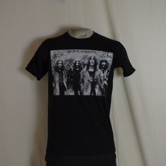 t-shirt black sabbath graysclae group