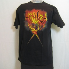 t-shirt nile flames