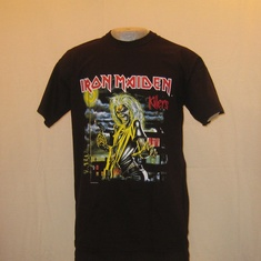 t-shirt iron maiden killers