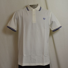 polo fred perry m1200-129 snow white
