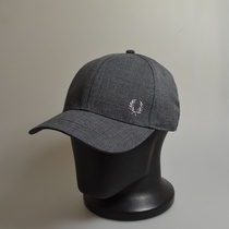 fred perry prince of walles cap charcoal