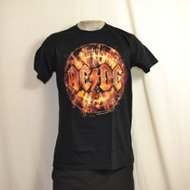 t-shirt acdc electric explosion