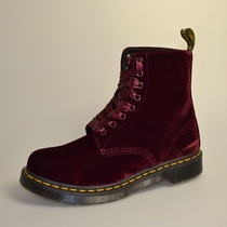 dr martens pascal cherry red