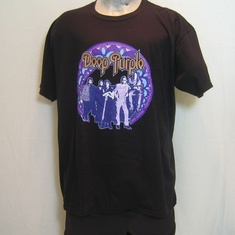 t-shirt deep purple frame