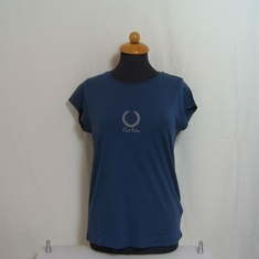 dames t-shirt fred perry g9715-334 blauw