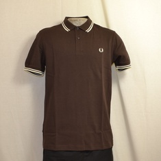 polo fred perry m3600-325 dark chocolate