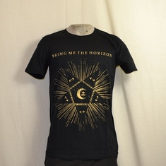 t-shirt bring me the horizon blackstar