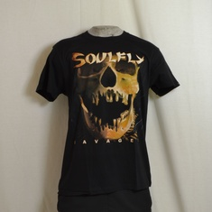 t-shirt soulfly savages