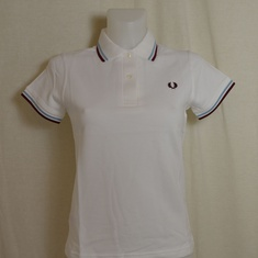 polo dames fred perry g12-301 wit