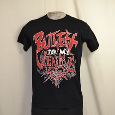 t-shirt bullet for my valentine doom