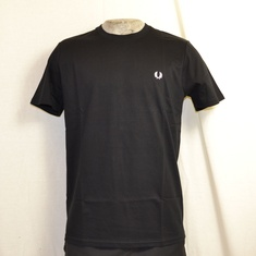 fred perry crew neck t-shirt zwart