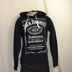 hooded sweater jack daniels