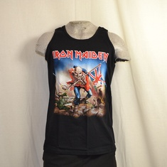 tank top iron maiden trooper