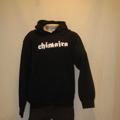 hooded sweater chimaira flames