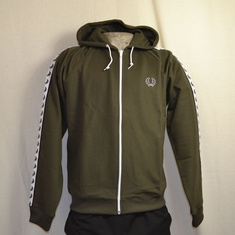 hooded trainingsjack fred perry iris leaf j9520