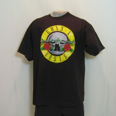 t-shirt guns and roses logo
