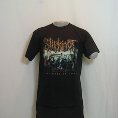 t-shirt slipknot all hope is gone
