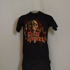 t-shirt iron maiden give em ed
