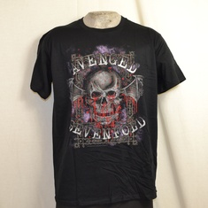 t-shirt avenged sevenfold bloody trellis
