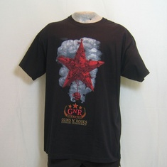 t-shirt guns and roses chinese democracy zwart