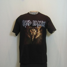 t-shirt iced earth wickedhead