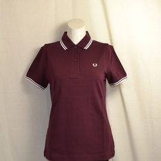 polo fred perry dames mahogany g3600-830