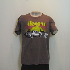 t-shirt the doors riders on