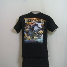 t-shirt testament damnation