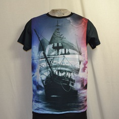 t-shirt frenchcore schip