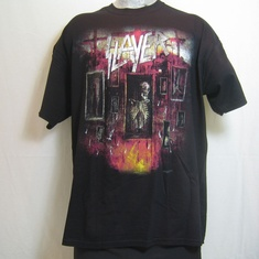 t-shirt slayer world painted blood