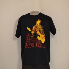 t-shirt jimi hendrix cry of love