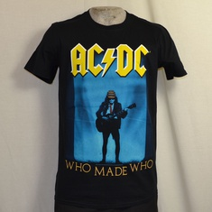 t-shirt acdc who made who