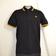 polo fred perry m1200-506 zwart