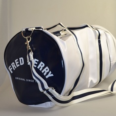 barrel bag fred perry wit l4305-100
