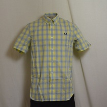 overhemd fred perry ice lemon m8273-540