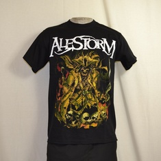 t-shirt alestorm we are here