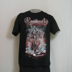 t-shirt ensiferum skeleton horseman