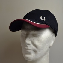 pet fred perry blocked pique blauw hw8640-k16