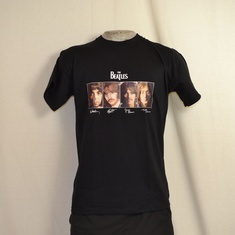 t-shirt beatles signature