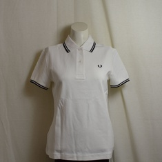 polo fred perry dames wit g3600-205