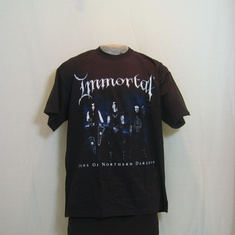 t-shirt immortal northern darkness
