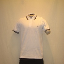 polo fred perry m1200-609 wit