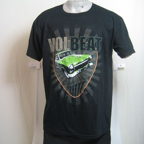 t-shirt volbeat on the road