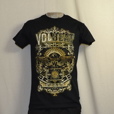 t-shirt volbeat old letters